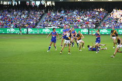 Australian rules football Royalty Free Stock Photography