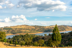 Australian rural landscape Royalty Free Stock Images