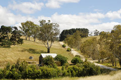 Australian Rural Landscape Royalty Free Stock Photo