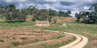Australian Rural Scene Royalty Free Stock Photo