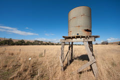 Australian rural scene Royalty Free Stock Images