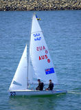 Australian sailboat Royalty Free Stock Photography