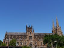 The Australian Saint Mary cathedral Stock Image