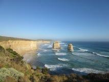 Australian sea view. Sea view in Australia - road trip Royalty Free Stock Photos