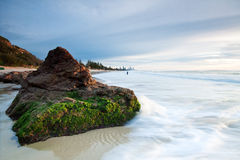 Australian seascape early morning Royalty Free Stock Photo