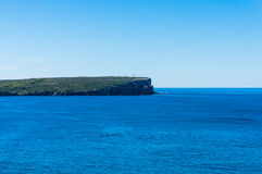 Australian seascape with lighthouse Stock Photos