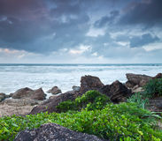 Australian seascape at twilight Royalty Free Stock Photo