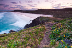 Australian seascape at twilight Royalty Free Stock Images
