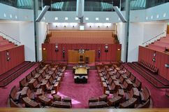 Australian Senate royalty free stock photos