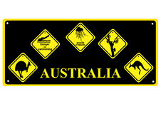 Australian signs Stock Photography