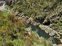 The Australian Snowy river Stock Images