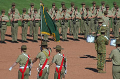 Australian soldiers stock images