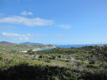 Australian southern coast landscape Royalty Free Stock Images