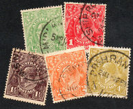 Australian stamps Stock Photography