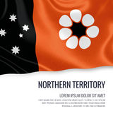 Australian state Northern Territory flag. Stock Photography
