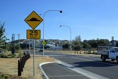 Australian street or Street in Australia royalty free stock photo