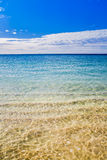 Australian Summer beach sea shore beautiful Stock Image