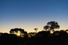Australian Sunset Royalty Free Stock Photography