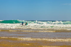 Australian surfers Royalty Free Stock Images