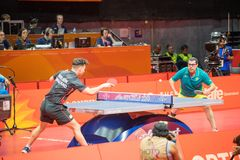 2018 21st Commonwealth Games Table Tennis Royalty Free Stock Photography