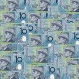 Australian Ten Dollar Notes, featuring Banjo Paterson and Mary Gilmore stock photos