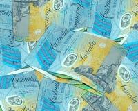 Australian ten dollars. Money concept Royalty Free Stock Photography
