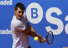 Australian tennis player Bernard Tomic Royalty Free Stock Images