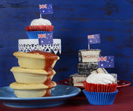 Australian traditional party food Royalty Free Stock Image