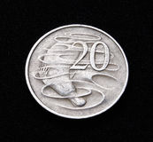 Australian Twenty cent coin Stock Photo