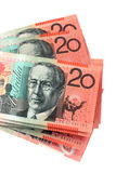 Australian Twenty Dollar Notes Stock Photo