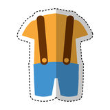 Australian typical clothes male Royalty Free Stock Photography
