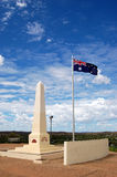Australian war memorial. ANZAC Hill, war memorial in Alice Springs, Northern Territory, Australia Stock Image