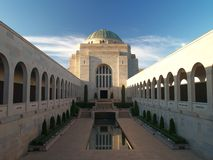 Australian war memorial Royalty Free Stock Photography