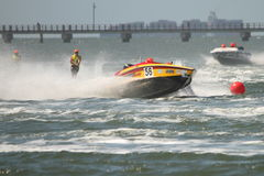Australian Water Ski Racing Stock Photos