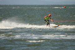 Australian Water Ski Racing Royalty Free Stock Images
