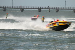 Australian Water Ski Racing Stock Photo