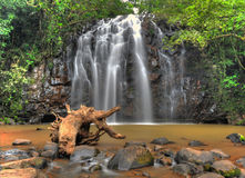 Australian waterfall Ellinjae Falls, North Queensland, Australia Stock Photo