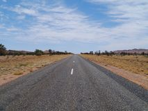The Australian West Mcdonnell ranges Royalty Free Stock Photography