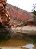Australian West Mcdonnell ranges Royalty Free Stock Photography