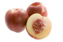 Australian white flesh nectarine Royalty Free Stock Image
