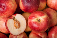 Australian white flesh nectarine Royalty Free Stock Photography