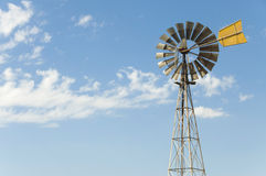 Australian wind mill Stock Photo