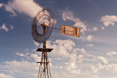 Australian windmill Royalty Free Stock Images