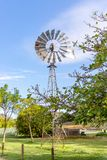 Australian Windmills have successfully pumped water in the Australian Outback royalty free stock image