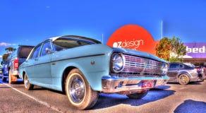 Australiano clásico Ford Falcon 500 de los años 60 Fotos de archivo libres de regalías