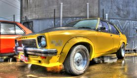 Australiano classico Holden Torana SLR 5000 degli anni 70 Immagine Stock Libera da Diritti