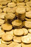 Australiano lle monete dell'un dollaro Immagini Stock Libere da Diritti