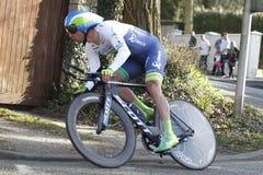 Australiano Michael Matthews Cyclist Imágenes de archivo libres de regalías