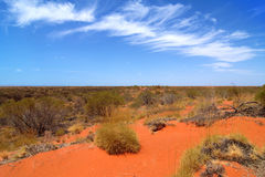 Australiano Outback Fotografia Stock Libera da Diritti