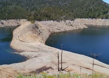 The AustralianTumut pond reservoir Royalty Free Stock Photos